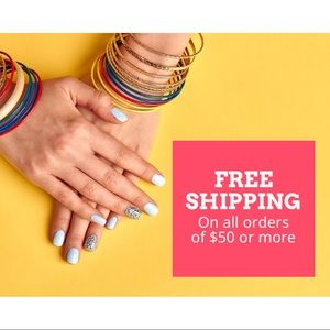 FREE SHIPPING ON ALL ORDERS $50 or more